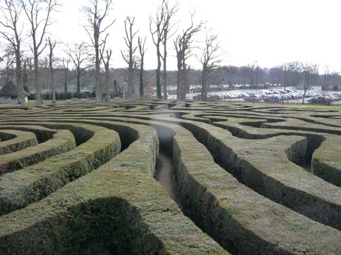 maze or labyrinth