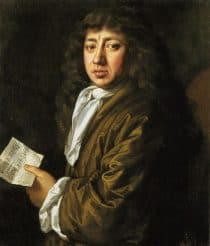 A portrait of Samuel Pepys