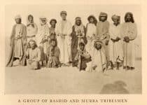 an old photo of some tribesmen