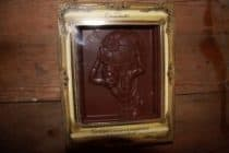 Atlas celestial sphere in chocolate