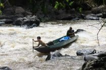 rapids in borneo
