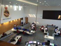 inside HM coastguard fareham office