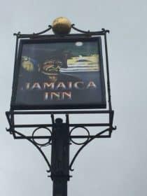 The Jamaica Inn Sign