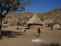 A Namibian village