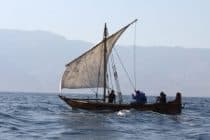 Omani historic sailing vessels