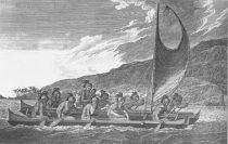 Polynesian wayfinding canoe