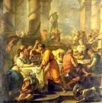 Saturnalia festival art
