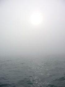 Sun in mist